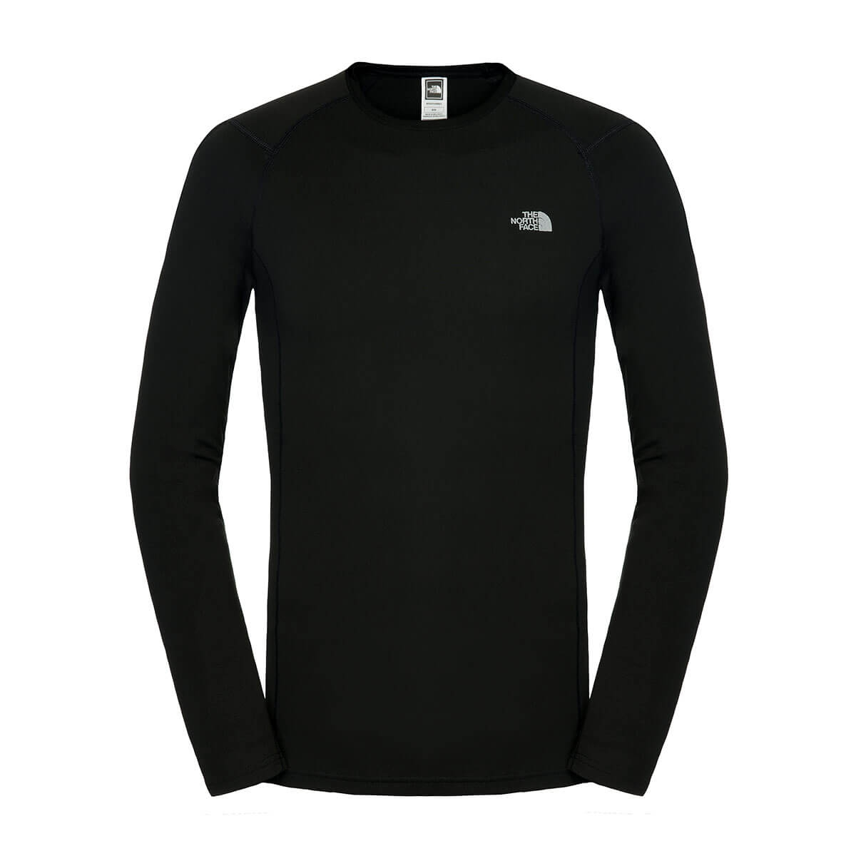 The North Face Men's Thermal Warm Long Sleeve Crew Neck TNF Black Size S