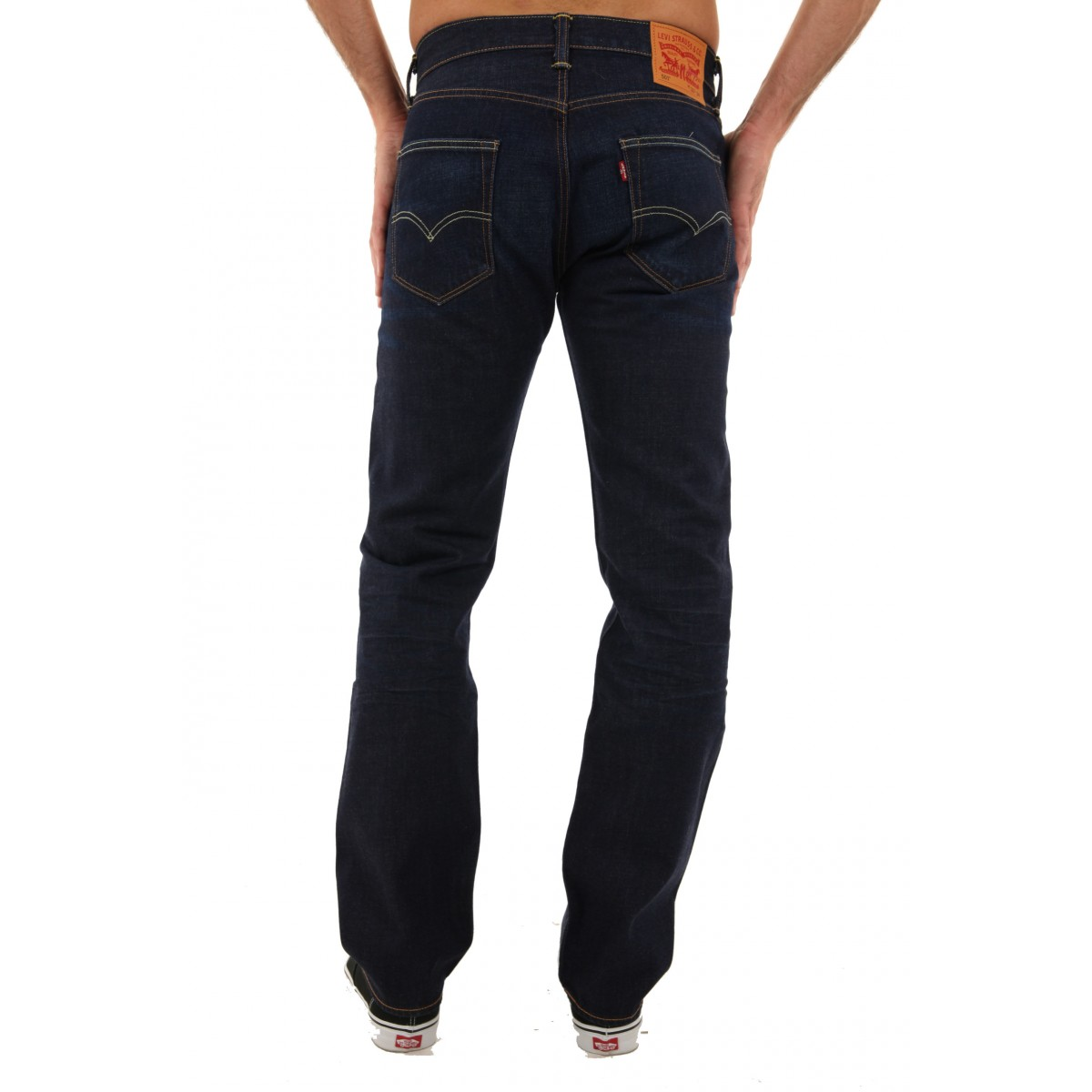 New Levis 501 Jeans Authentic Button Fly Mens Classic Fit ...