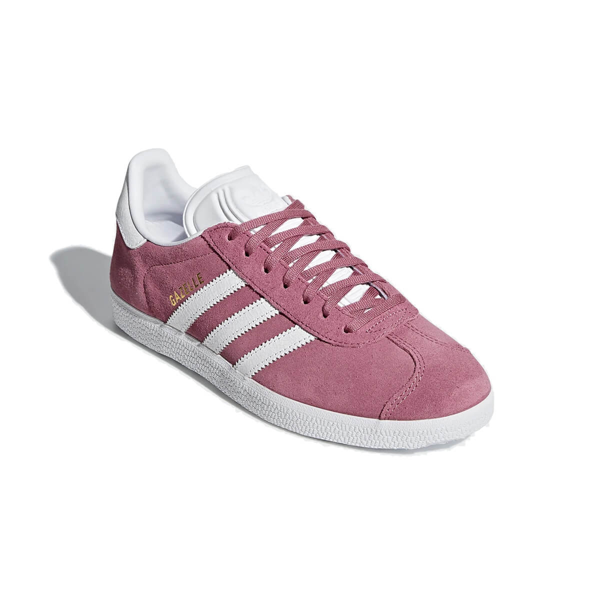 421da6c0620 New Adidas Originals Gazelle Women Suede Fashion Shoe Pink White ...