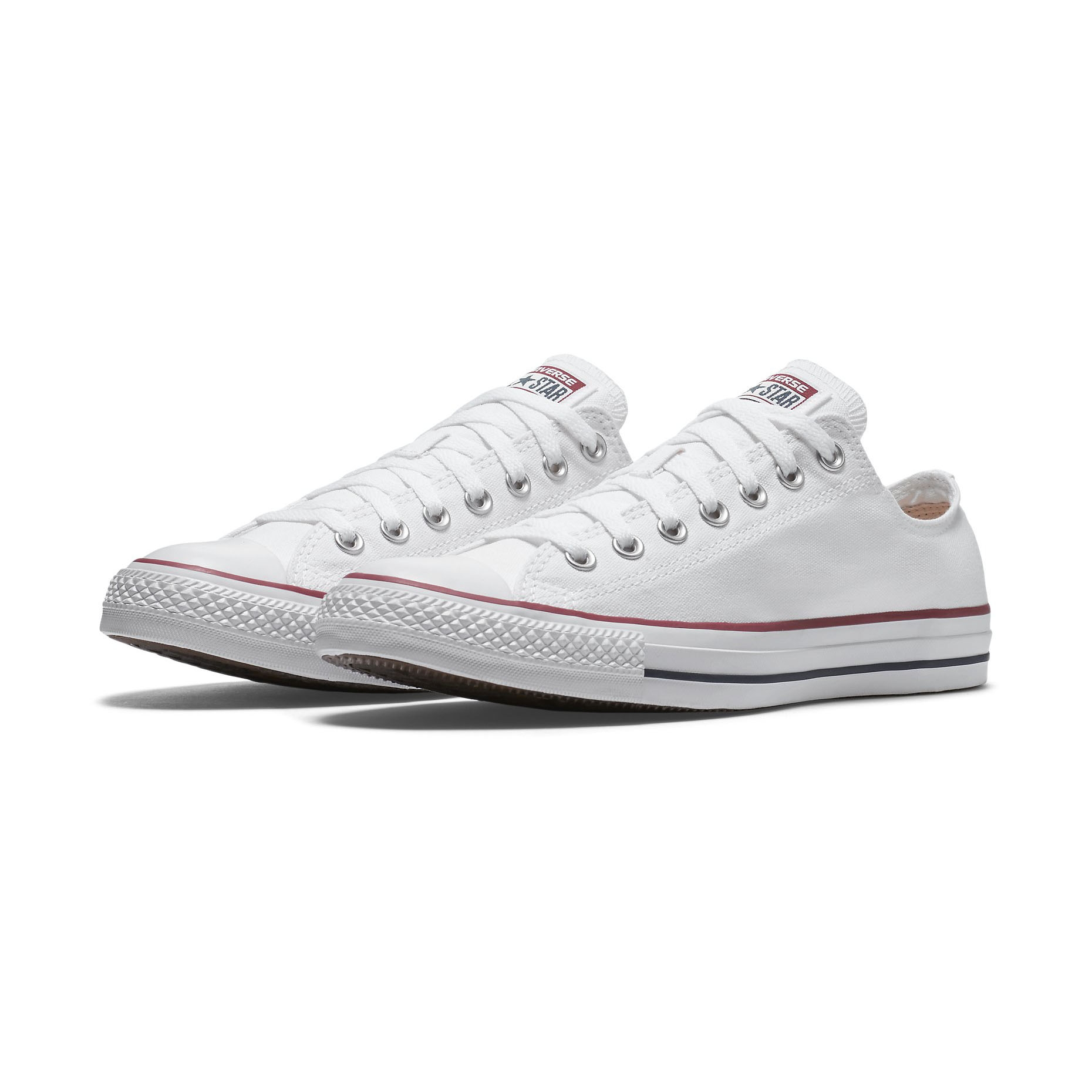 44863e4f4f74b0 Converse Chuck Taylor Ox All Star Men s Ladies Sneaker Shoes Optic ...