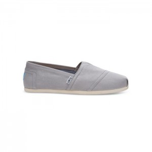 Toms Classic Drizzle Grey Canvas