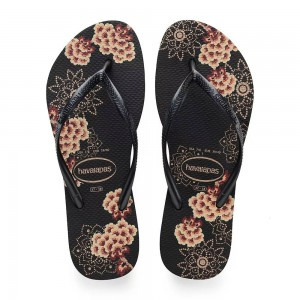 Havaianas Slim Organic Black Dark Metal