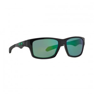New Oakley Jupiter Squared Sunglasses OO9135-05 Polished Black Jade Iridium Lens