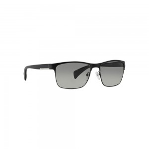 New Original Prada Sunglasses PS51OS FAD3M1 Matte Black Frame Grey Gradient Lens