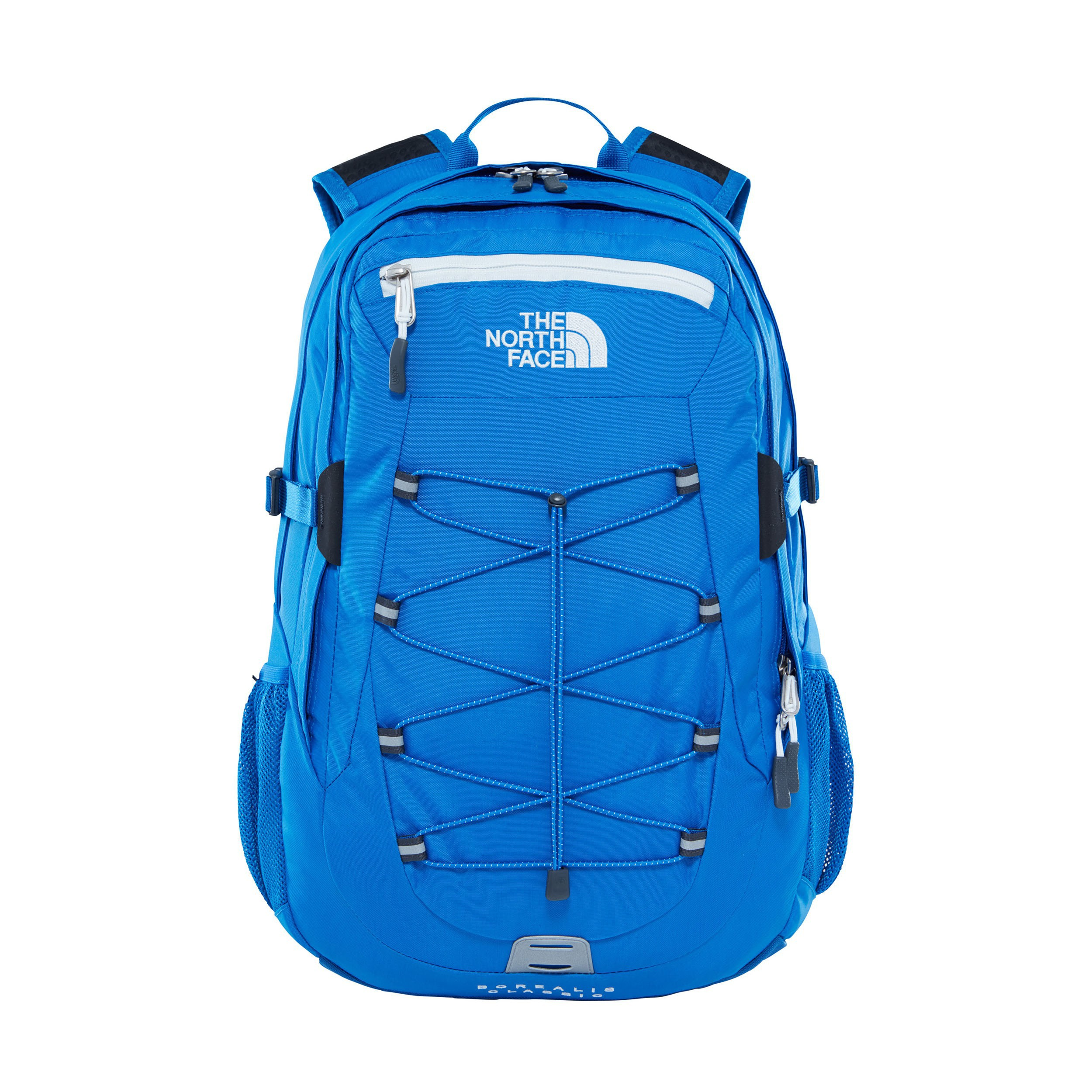 The North Face Borealis Classic Backpack Turkish Sea TNF White