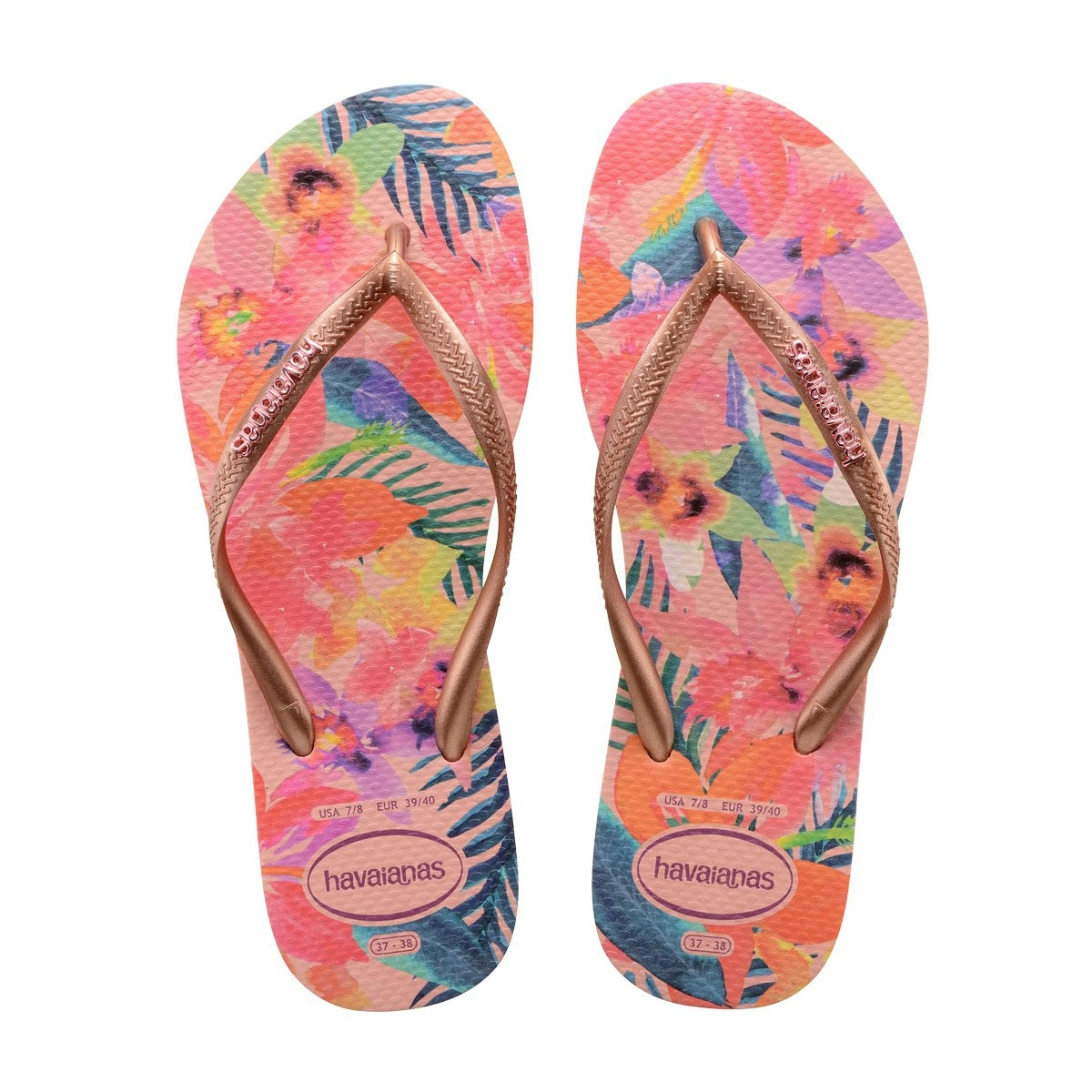 Havaianas Slim Tropical Ballet Rose