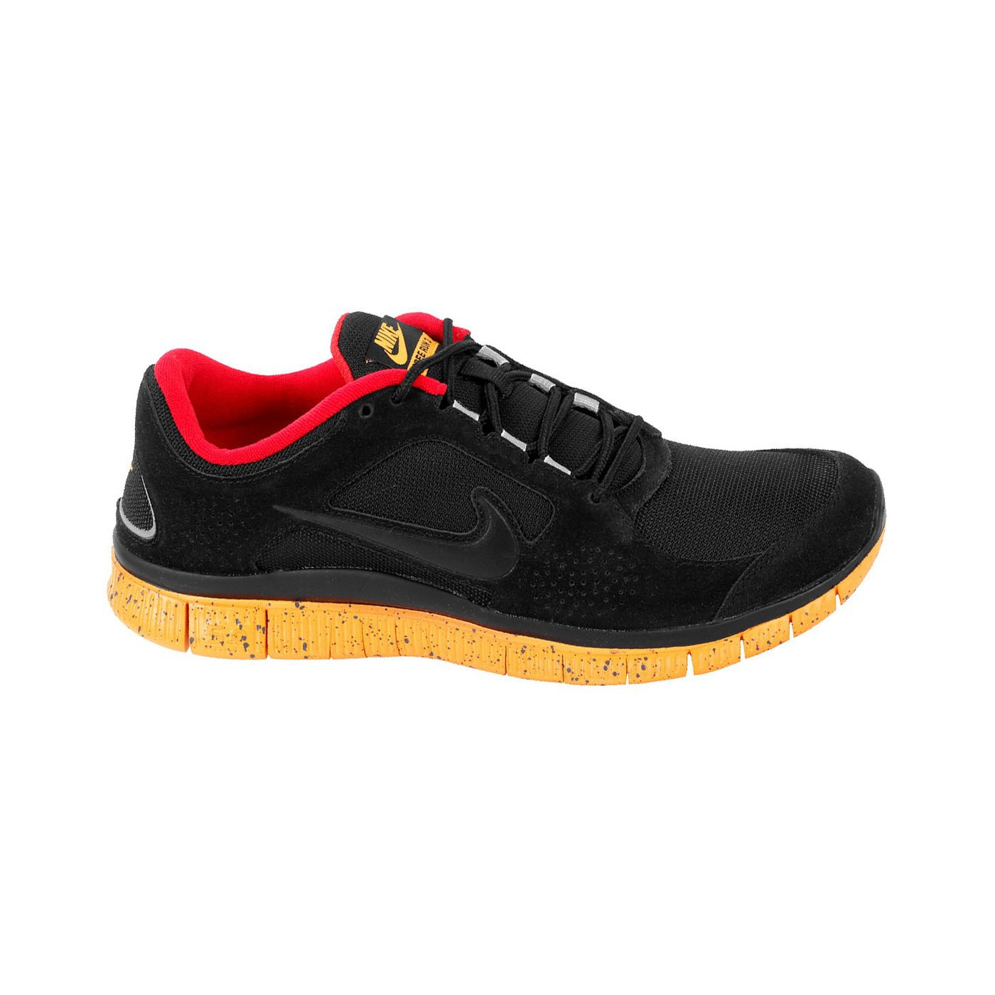 Nike Free Run+ 3 EXT Black Gold Red