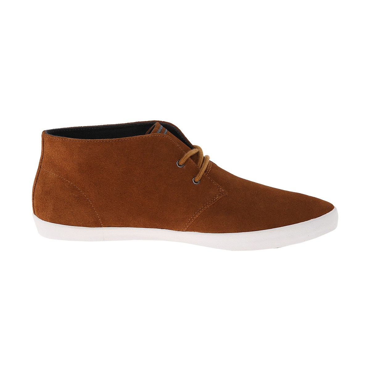 Fred Perry Byron Mid Suede B4271 Ginger