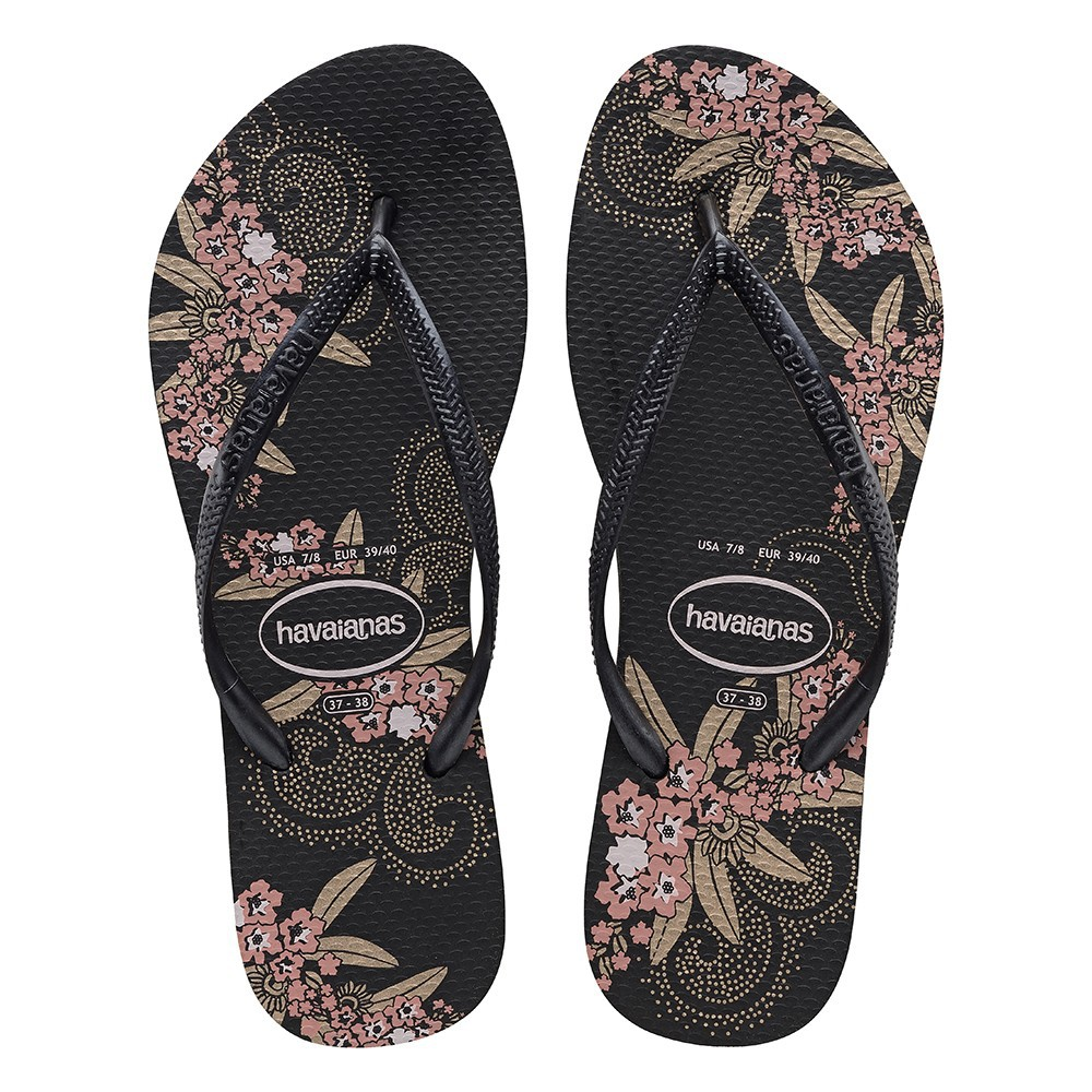 Havaianas Slim Organic Black Dark Grey