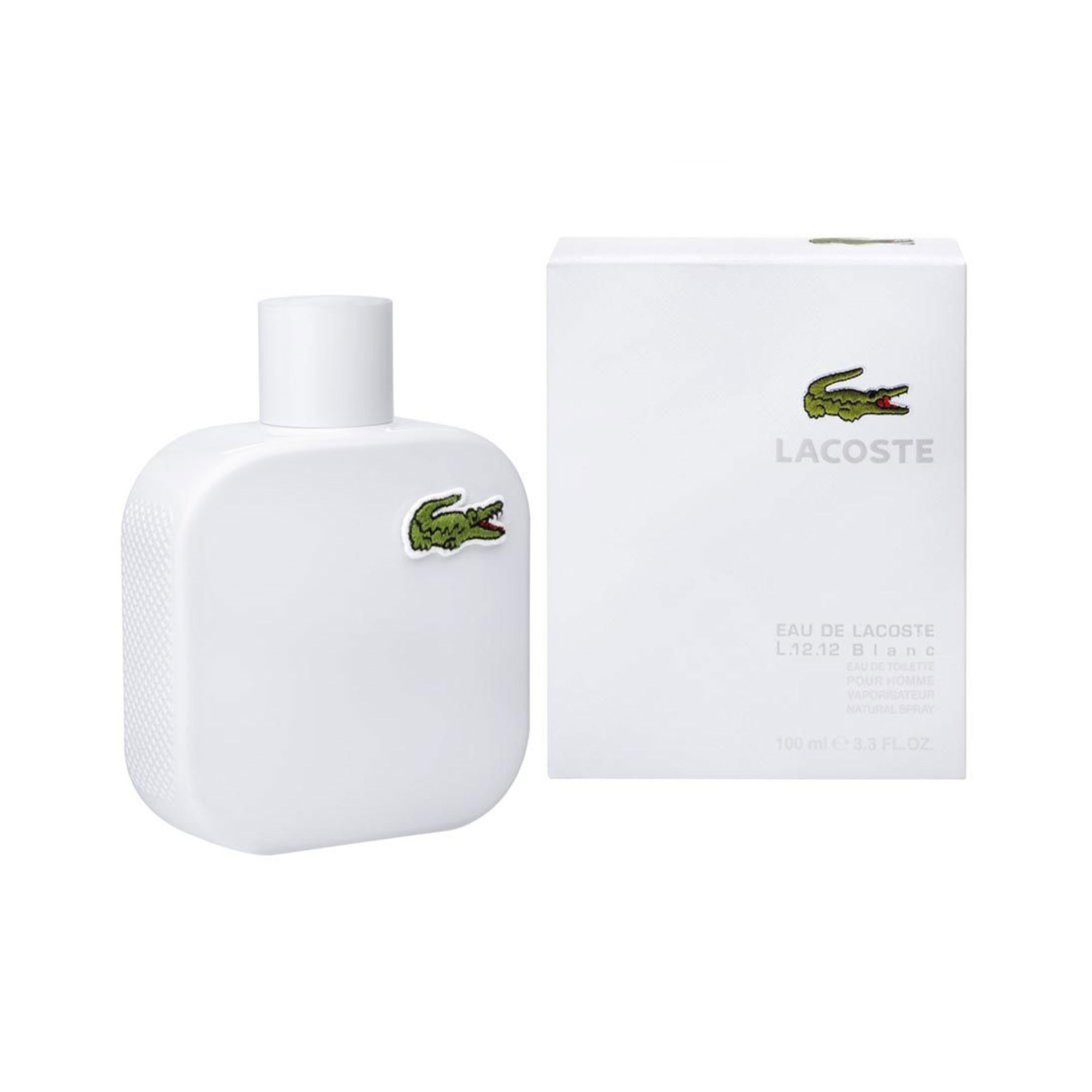 Eau De Lacoste Blanc Pure L.12.12 Men's 100 ml