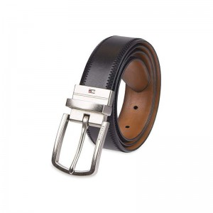 Tommy Hilfiger Men's Belt Black Tan