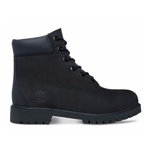 Timberland 6 Inch Waterproof Junior 12907 Black Nubuck
