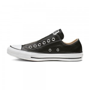 Converse Chuck Taylor All Star Leather Slip Black