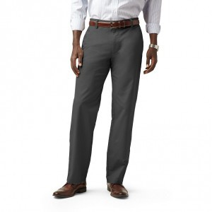 Dockers D2 Flat Khak Dark Gray