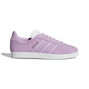 Adidas Women's Shoes Gazelle W Lilac White