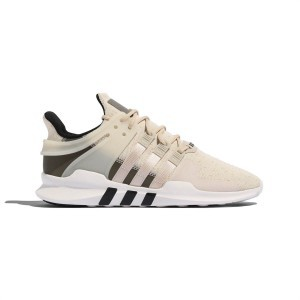 Adidas Men's Shoes EQT SUPPORT ADV Off White Dark Green