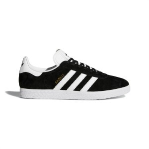 Adidas Men's Shoes Gazelle Black White