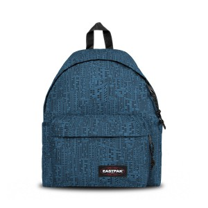 Eastpak Backpack Padded Pak'r Navy Blocks