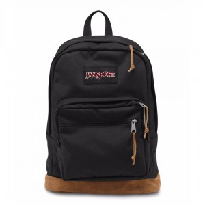 New Authentic Jansport Right Pack Backpack Black Student School Laptop Bag NWT