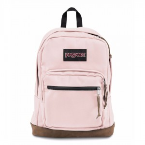 New Authentic Jansport Right Pack Backpack Pink Blush Student School Laptop Bag