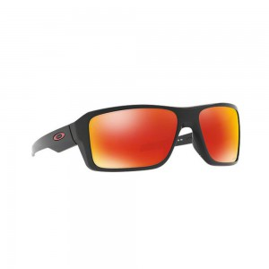 New Original Oakley Double Edge Sunglasses Black OO9380-05 Prizm Ruby Polarized