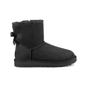 UGG Women's Boots Mini Bailey Bow ll Black