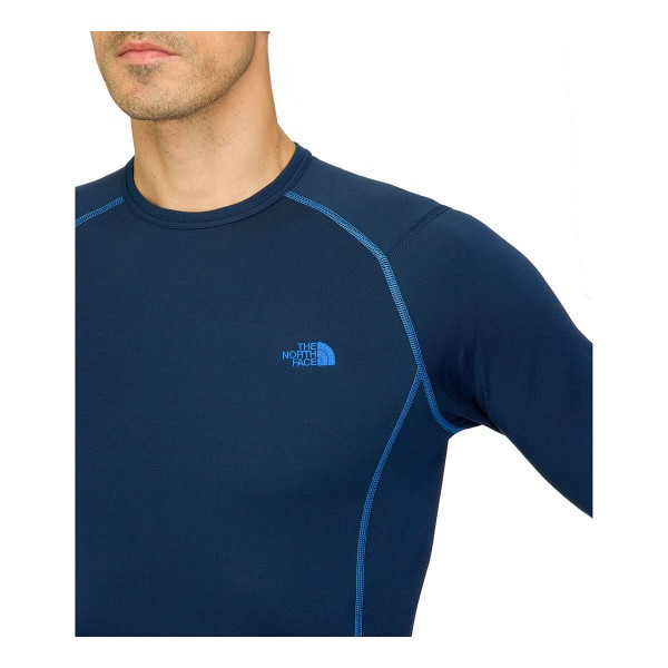 The North Face Men's Thermal Warm Long Sleeve Crew Neck Cosmic Blue
