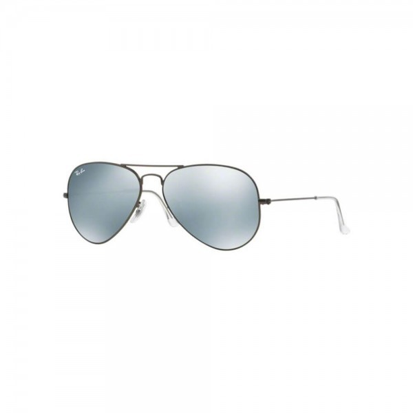New Original Ray Ban Aviator Sunglasses RB3025 029/30 58mm Silver Mirror UV Lens
