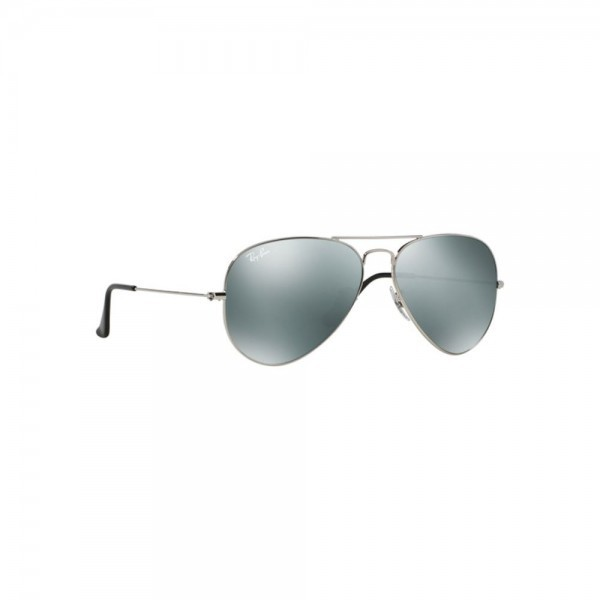 New Ray Ban Aviator Sunglasses RB3025 Silver Metal W3277 58mm Mirrored UV Lens