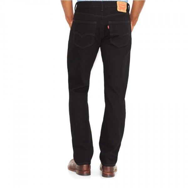 Levis 505 Jeans Charocal Black