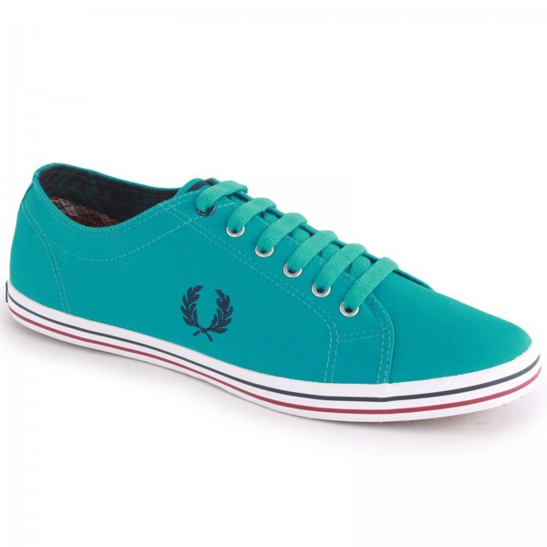 Fred Perry Kingston Twill Tipped B3176 Bright Lagoon