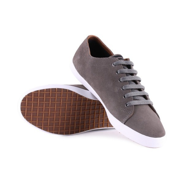 Fred Perry Kingston Suede B6238 Mid Grey
