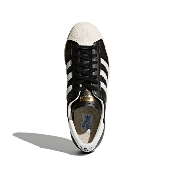 Adidas Men's Shoes Superstar 80s Black White