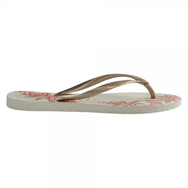 Havaianas Slim Organic White Rose Gold