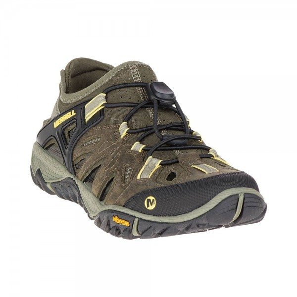 Merrell Shoes All Out Blaze Sieve J37666 Olive Night