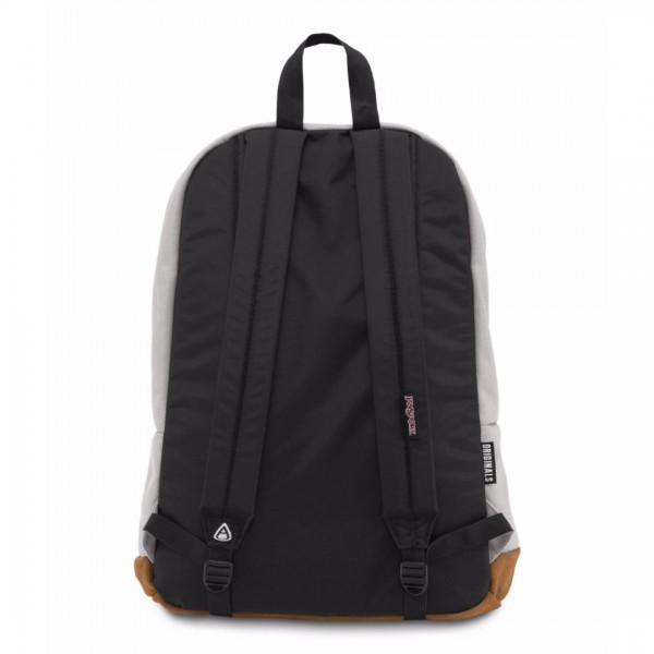 New Authentic Jansport Right Pack Backpack Grey Rabbit Student School Laptop Bag