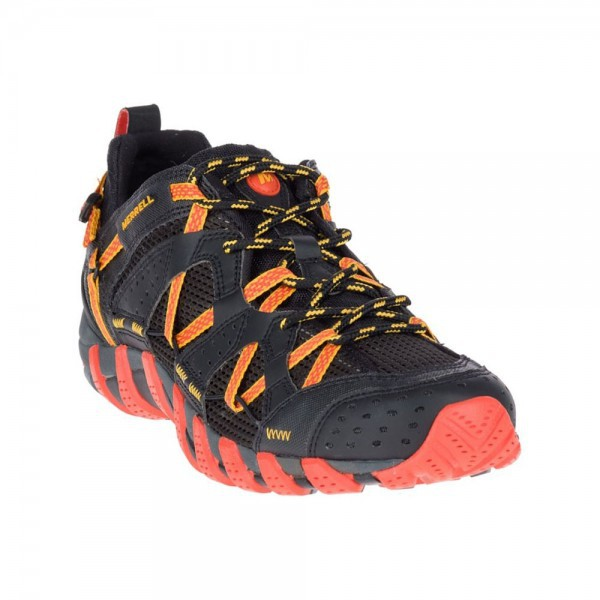 Merrell Shoes Waterpro Maipo J12627 Black Hot Coral