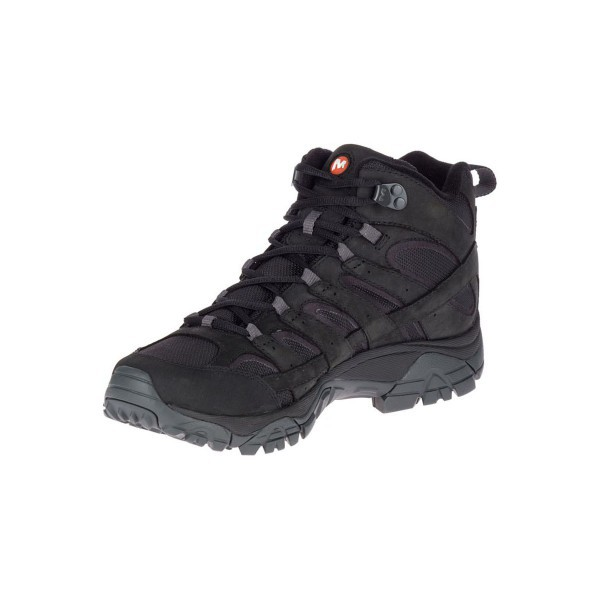 Merrell Shoes Moab 2 Smooth Mid Gore-Tex J46551 Black