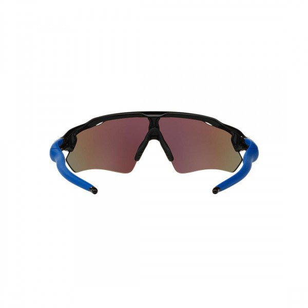 New Oakley Radar EV Path Sunglasses OO9208-20 Sapphire Iridium Polished Black
