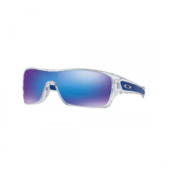 New Oakley Turbine Rotor Sunglasses OO9307-10 Sapphire Iridium Polished Clear