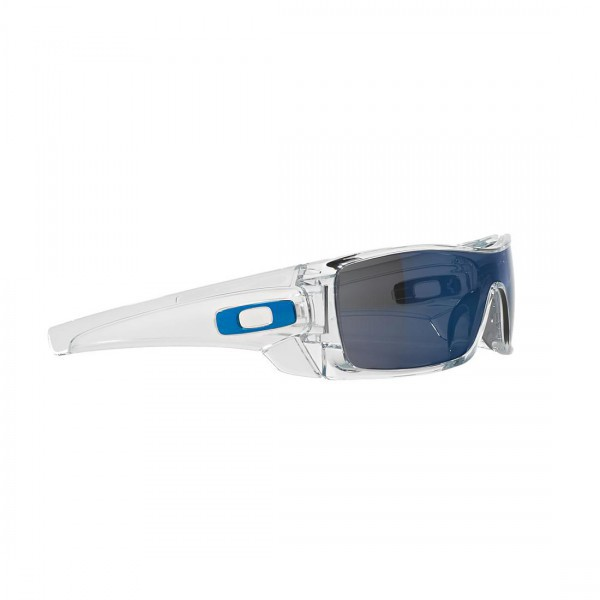 New Original Oakley Batwolf Sunglasses OO9101-07 Polished Clear Ice Iridium Lens