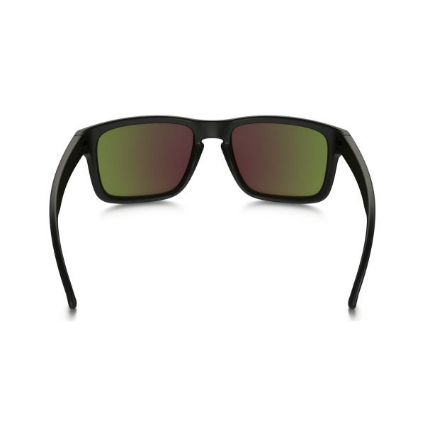 8cc9b100eb2 ... New Oakley Holbrook Sunglasses OO9102-51 Matte Black Ruby Iridium  Polarized Lens ...