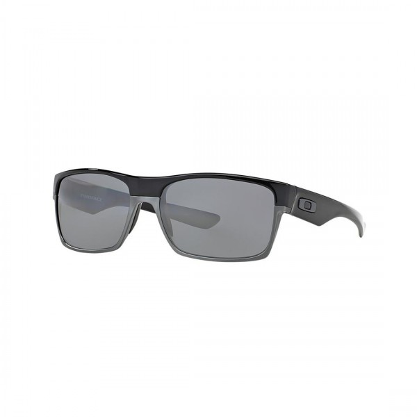 New Oakley TwoFace Sunglasses OO9189-01 Polished Black Iridium Polarized Lens
