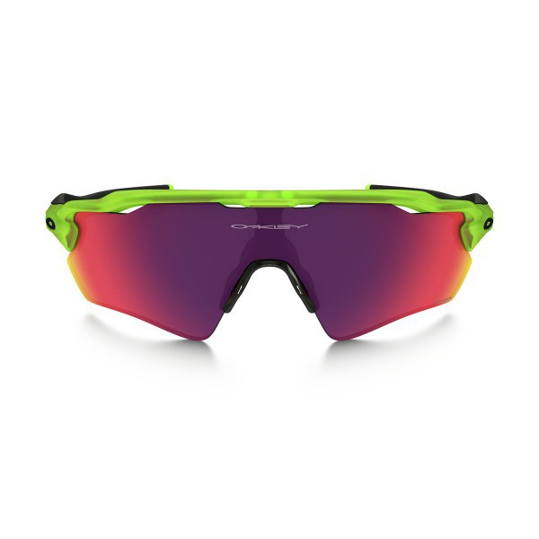 New Original Oakley Radar EV Path Sunglasses OO9208-09 Uranium Prizm Road Lens