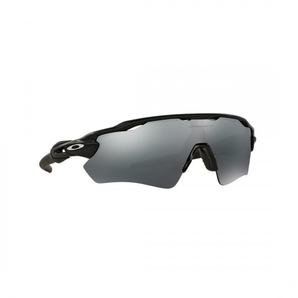 New Original Oakley Radar EV Path Sunglasses OO9208-01 Black Iridium Lens NIB