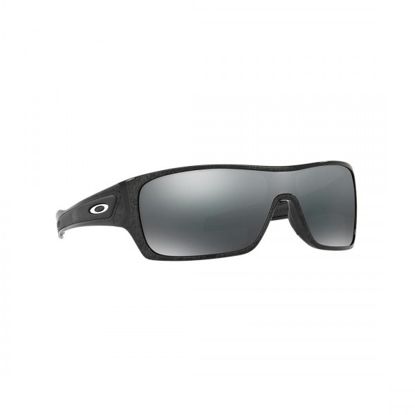 76b4577965b New Oakley Turbine Rotor Sunglasses OO9307-02 Silver Ghost Black Iridium  Lens ...