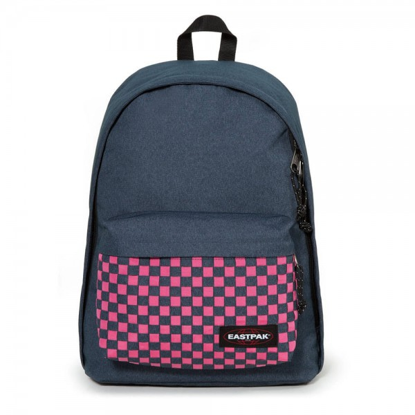Eastpak Backpack Out Of Office Pink Weave