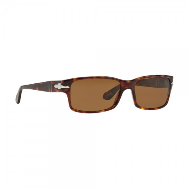New Authentic Persol Sunglasses PO2803S 24/57 Havana Crystal Brown Polarized NIB