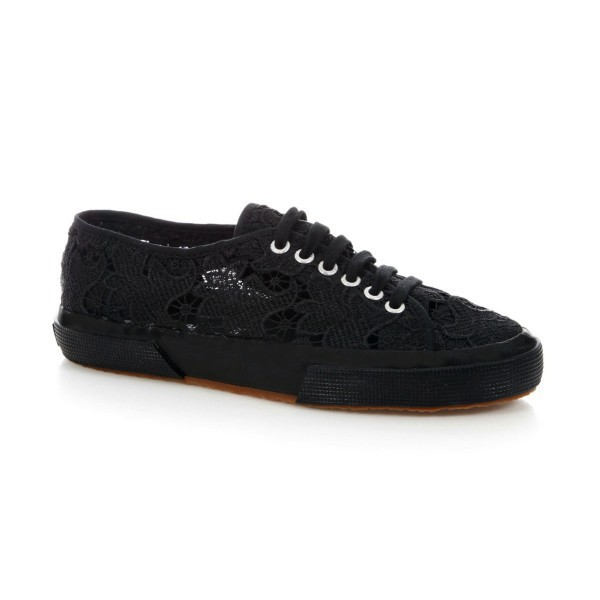 Superga 2750 Macramew Black