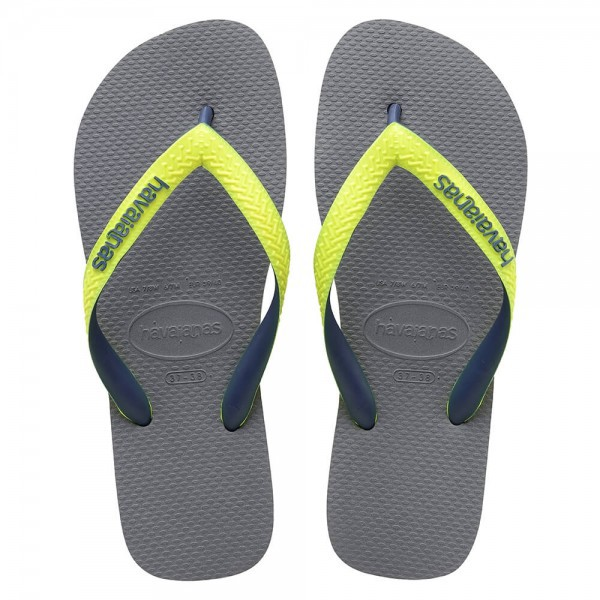Havaianas Top Mix Steel Grey Led Yellow